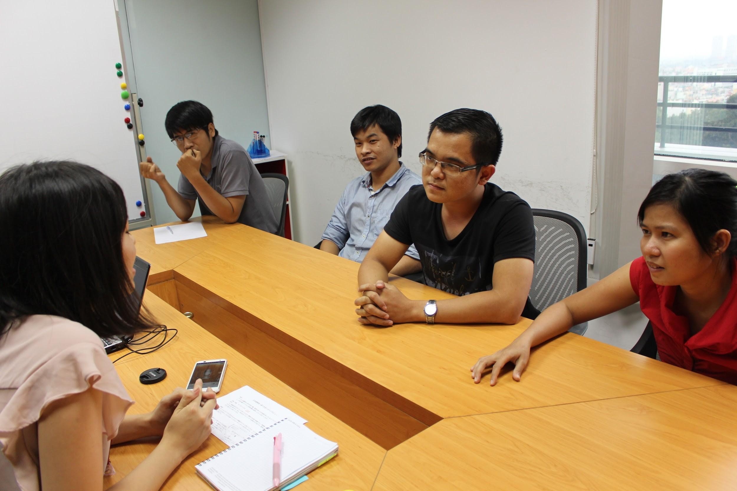 JLIC(エボラブルアジア日本語ITカレッジ )学生へインタビュー
