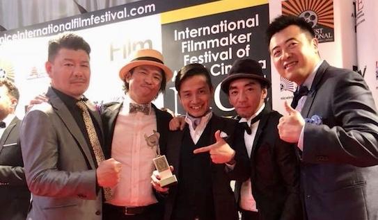 エボラブルアジアがオフィシャルスポンサーの映画「唾と密」がニース国際映画祭にて新人監督賞を受賞
